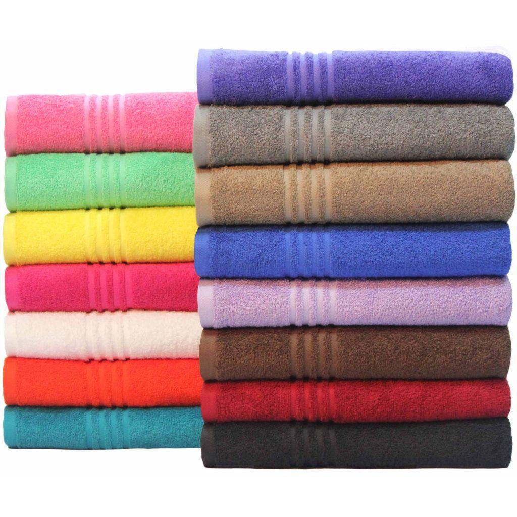 hot pink bathroom towel set - best bathroom 2017