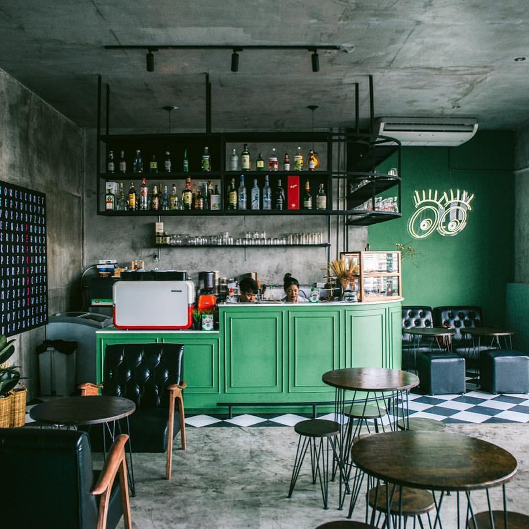 PeakABoo Cafe & Bar คาเฟ่ลับ ๆ สีมินต์สุดคิวท์ บนดาดฟ้า