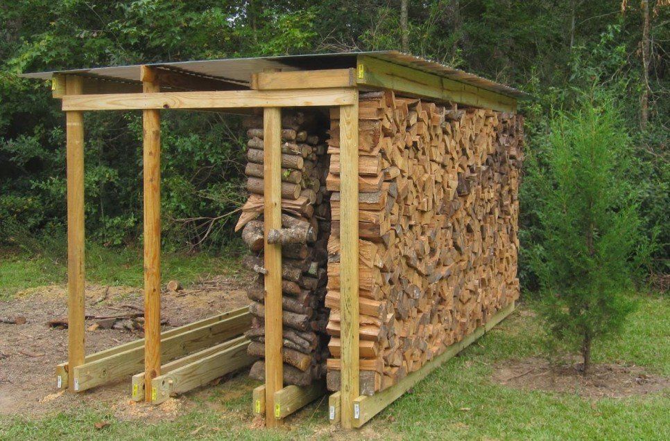 Furniture, Backyard Rustic House Design With DIY Covered ...
