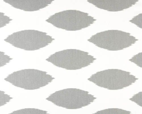Home Decor FABRIC  Ikat Dot  Grey by TheNeedleShop on Etsy, $10.95  {Like West Elm, but cheaper}