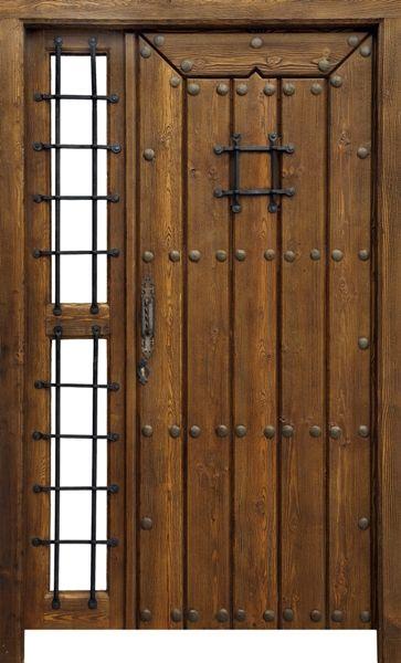 Porton Rustico Modelo Po011 Solapada Puertas Rusticas Artepuerta - Modelos-de-puertas-rusticas