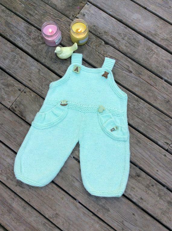 1881540b5 Hand Knit Baby Bamboo Cotton Bodygro Sweater
