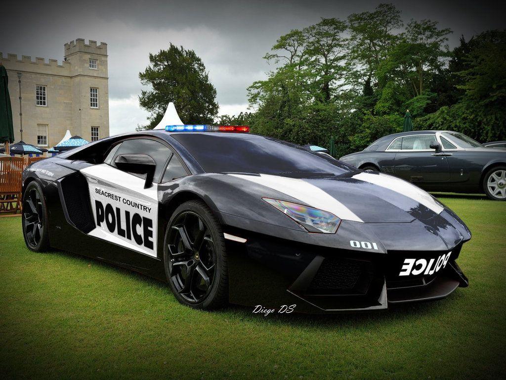 Best of police cars - Lamborghini Police Car