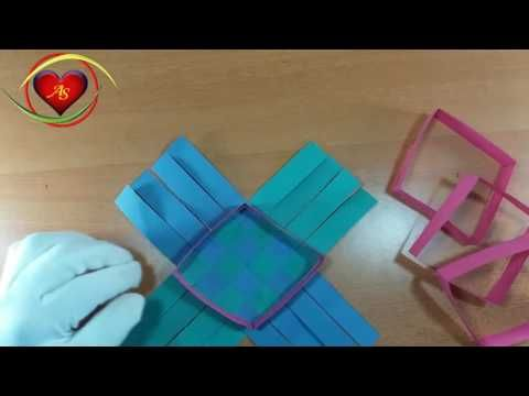 Hng Dn Gp Giy Origami Ci Ln I Ch Paper Vase Hng Dn