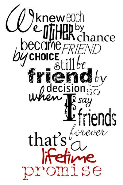 For Our Friendship May It Last Forever Spread Love You Always Your Best Friend Leena