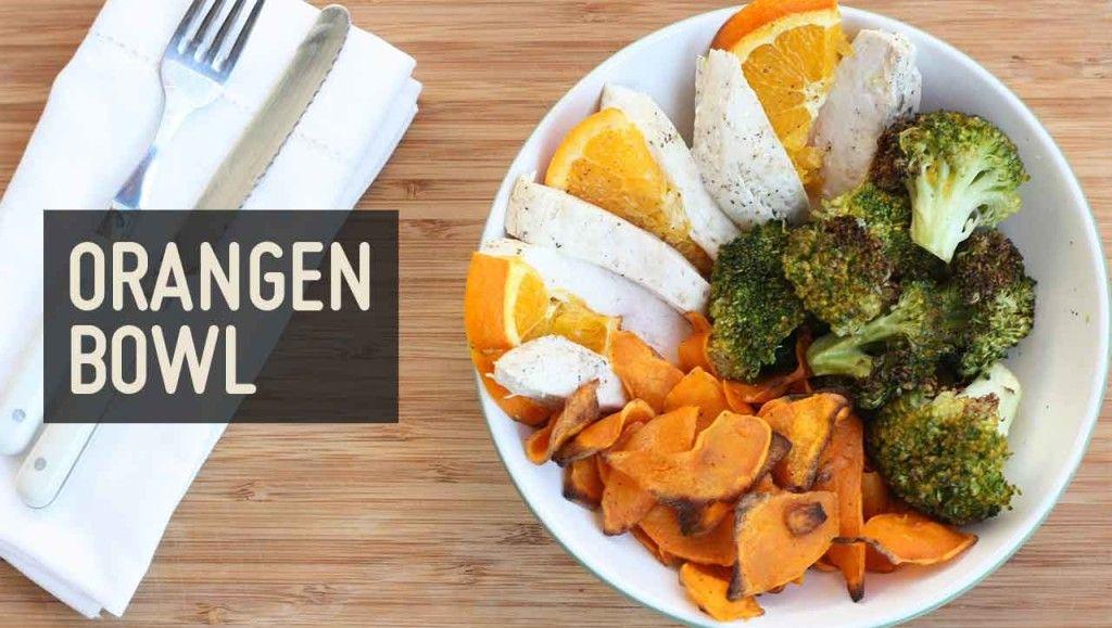 Orangen Hähnchen Bowl – Paleo360.de