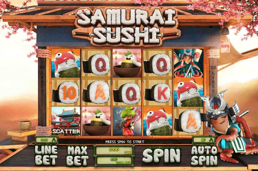 Spiele Samurai Sushi - Video Slots Online
