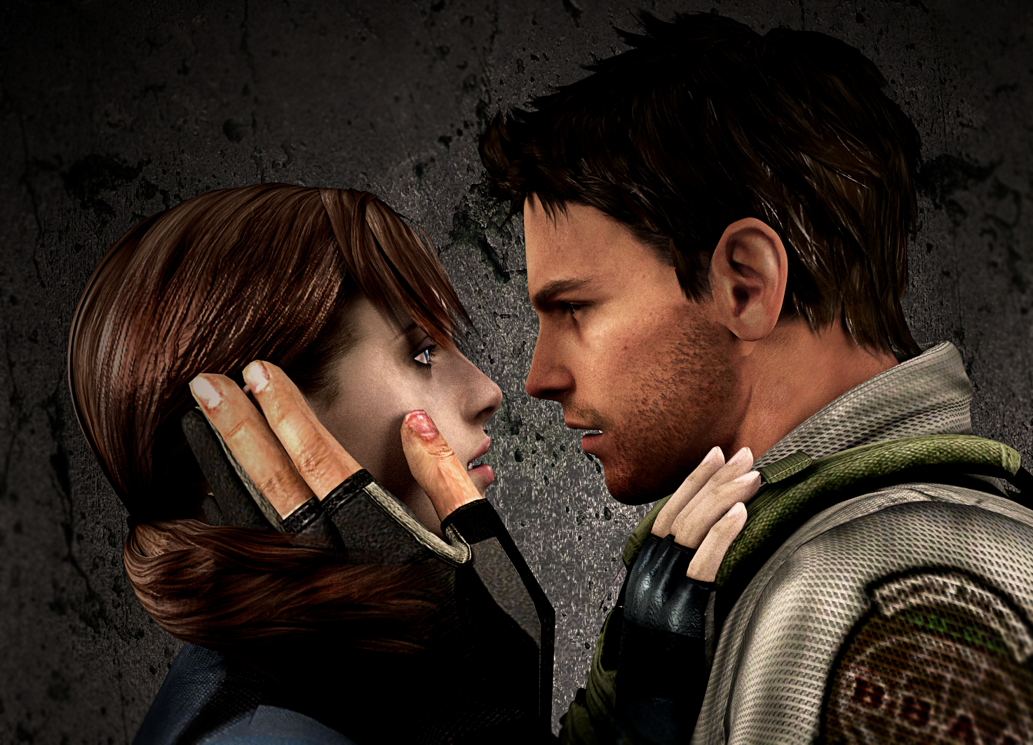 Chris Redfield And Jill