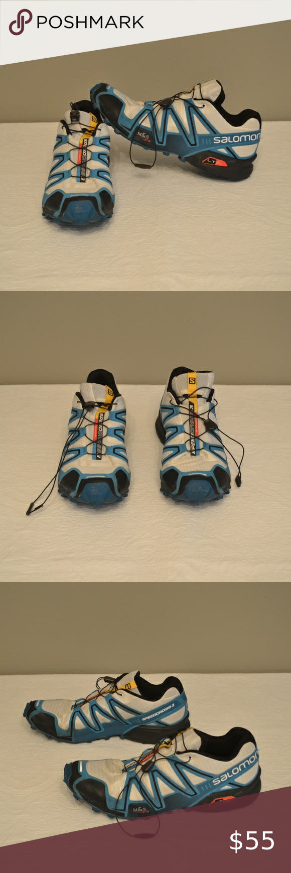 SALOMON Men's Speedcross 3 Shoes size