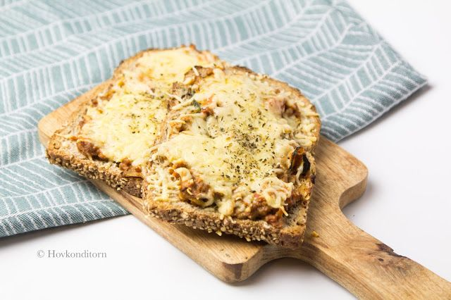Warm Sandwich with Soy Mince Sauce | My Recipes | Food ...