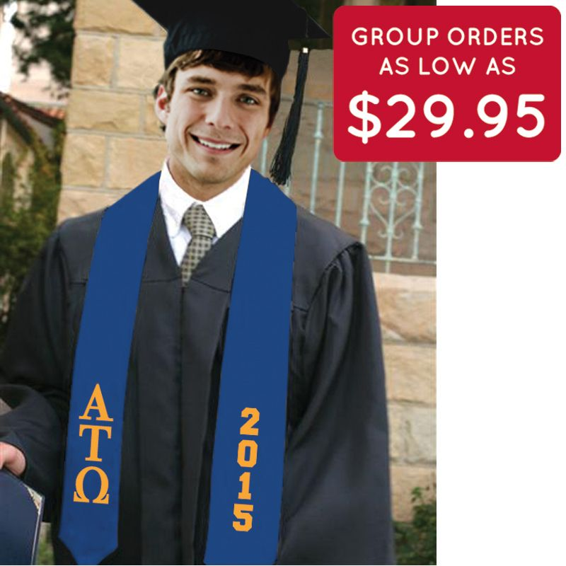 ATO Royal 2015 Graduation Stole