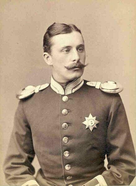 Heinrich Moritz von Battenberg, gen. Liko (1858-1896) oo Beatrice, der jüngsten Tochter von Königin Viktoria (gegen deren erbitterten Widerstand).