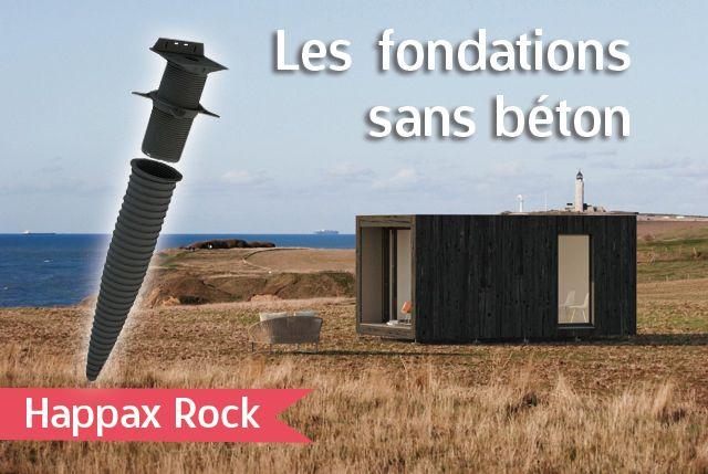 le plot de fondation hapax rock pour construction l g re. Black Bedroom Furniture Sets. Home Design Ideas