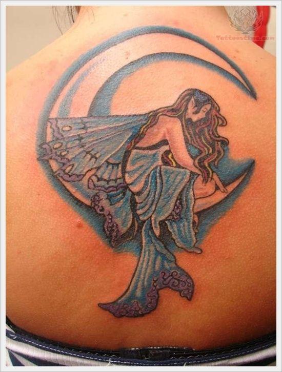 Mermaid Tattoos Design: Little Mermaid Tattoos Designs For Women On Back ~ Tattoo Design Inspiration