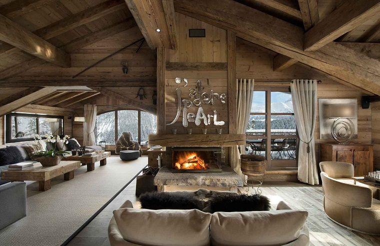 camini-rustici-chalet-montagna-arredamento-mobili-salotto-legno ...