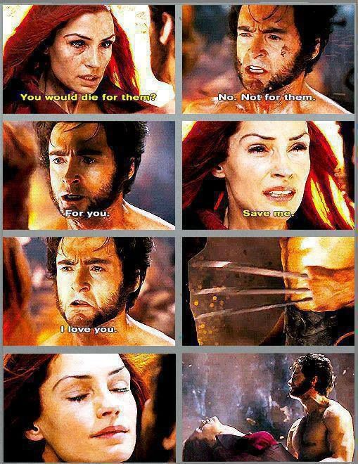 Sadness moment in Xmen history