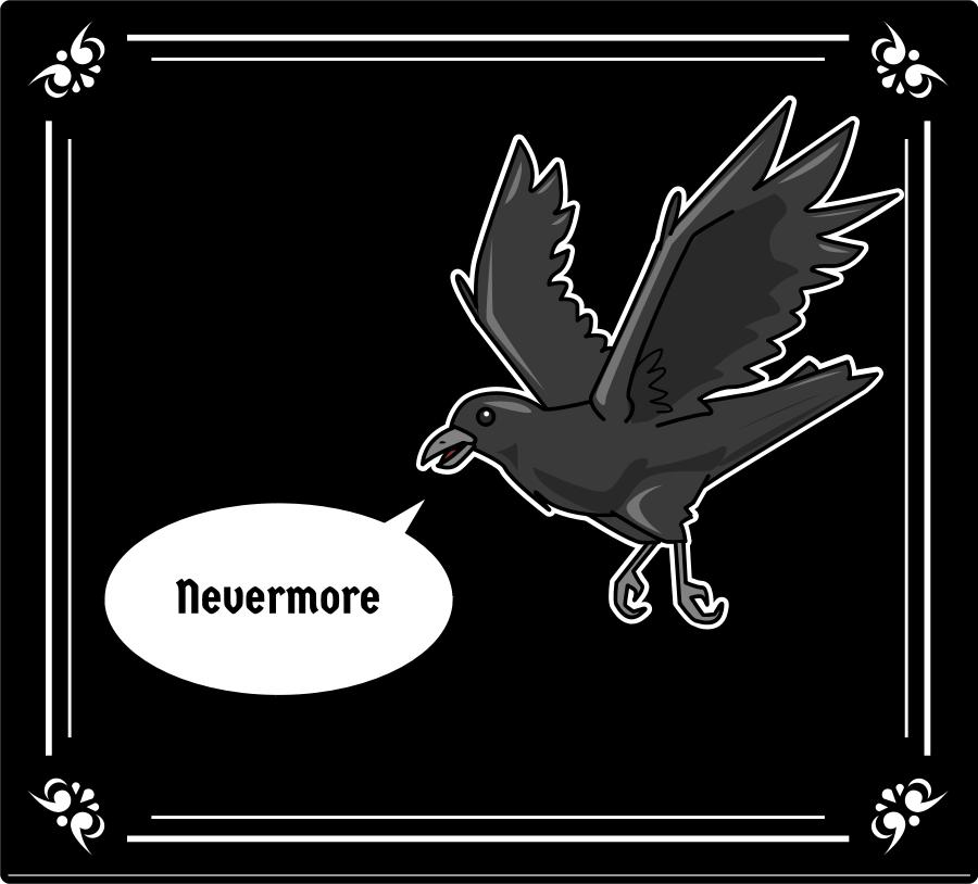 "Quoth the Raven, ""Nevermore!"" Edgar Allan Poe Lesson"