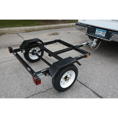 Ironton Utility Trailer Kit with 40in. x 48in. Bed — 1060-Lb. Capacity