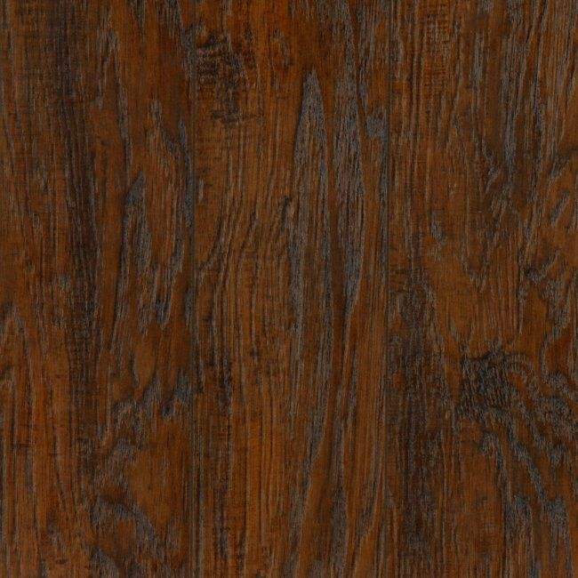 Laminate Flooring 12mm Thick Part - 23: Amber Hickory - A 12mm Thick Distressed Laminate!