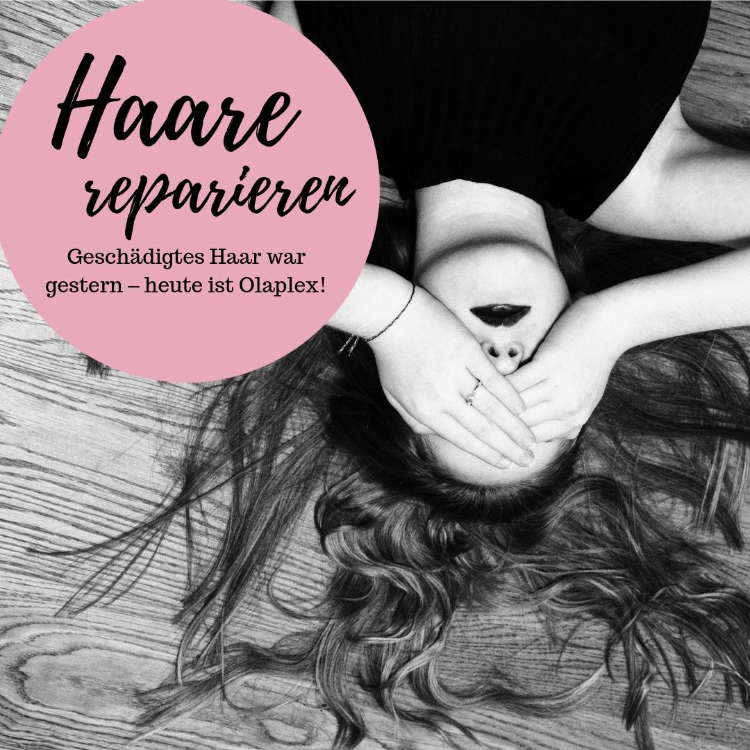 Haare zu Hause reparieren mit OLAPLEX | Haare reparieren