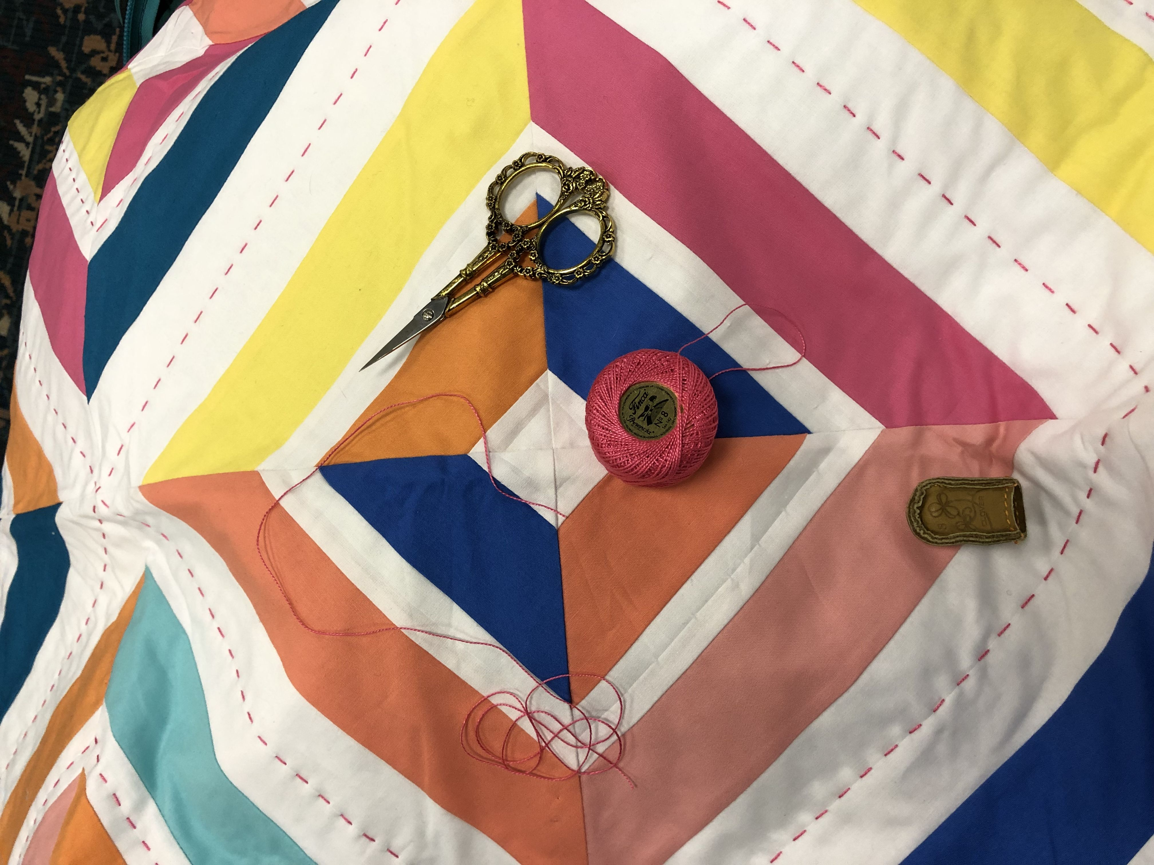 10 steps to easy hand quilting with images easy hand
