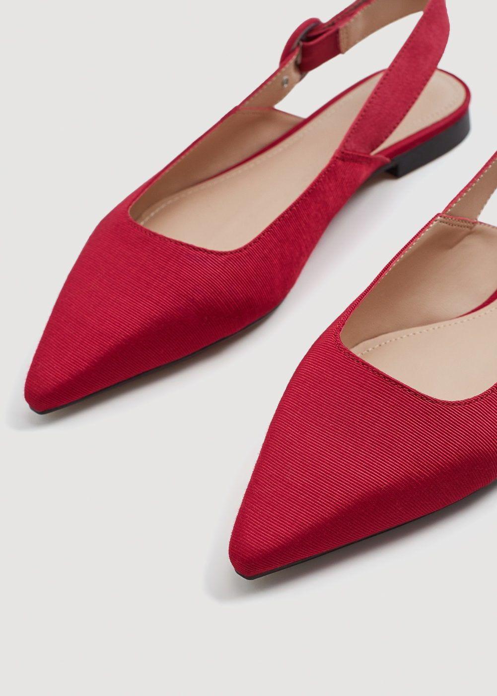 66c99e3fbb897 Zapato destalonado punta textura - Zapatos de Mujer en 2019