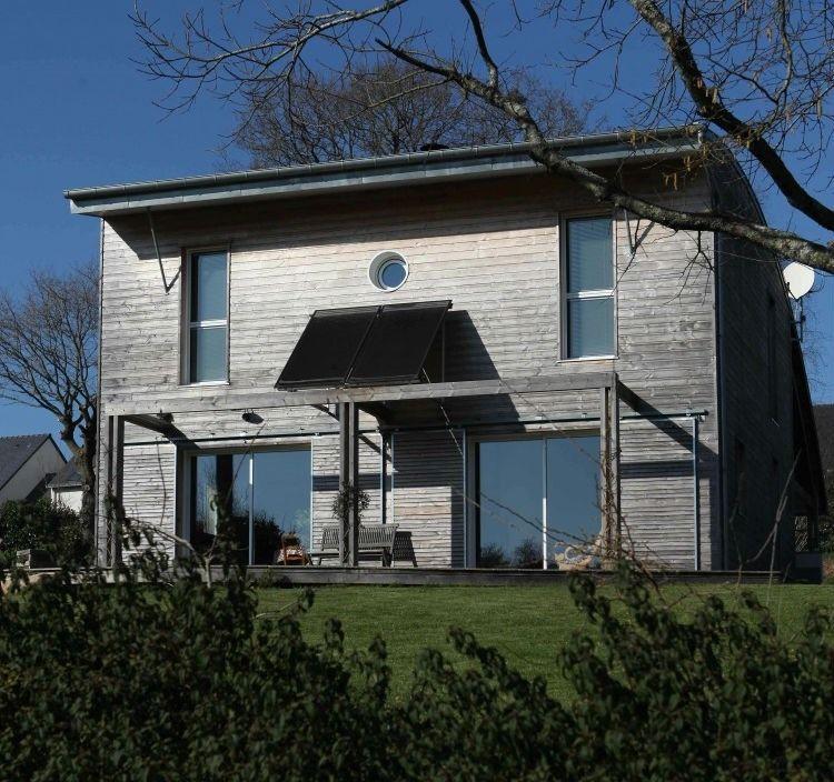 A Bioclimatic House By A.typique Patrice Bideau U2013 Saint Nolff