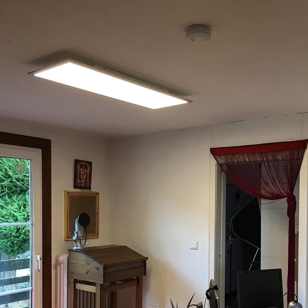 Licht Büro es werde licht neuer led panel im büro installiert danke fürs