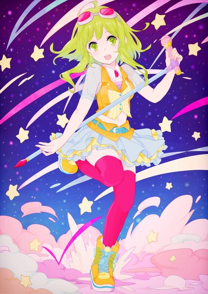 シューティングスター Gumi Gumi vocaloid, Anime