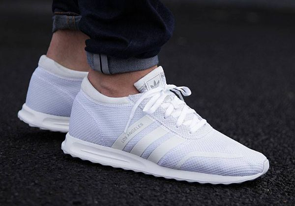 Los Angeles Adidas White