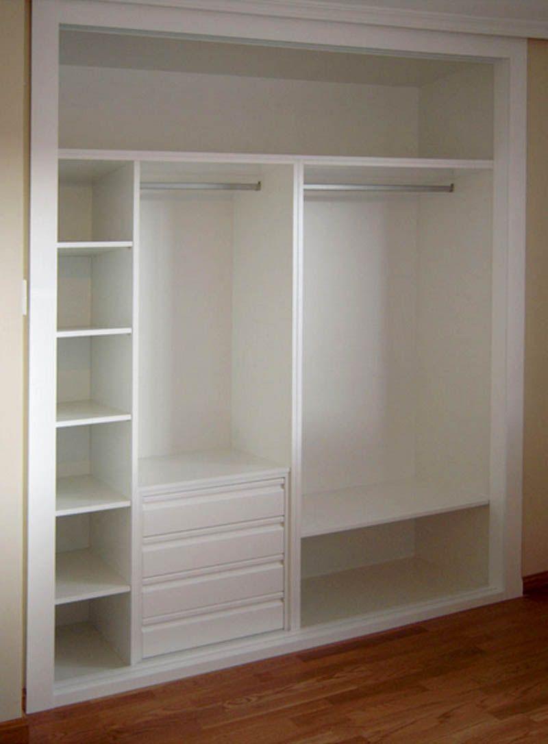 Pin de deysy en closet armario blanco interiores de - Interiores armarios empotrados puertas correderas ...