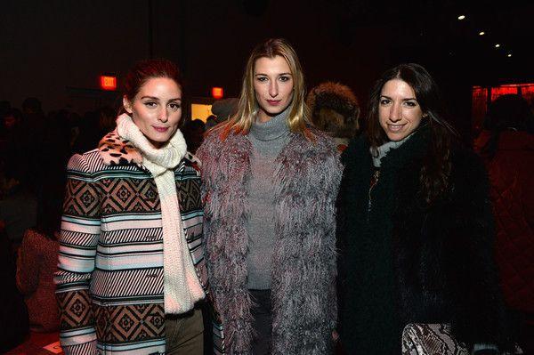 Olivia Palermo Photos - Diane Von Furstenberg - Front Row - Mercedes-Benz Fashion Week Fall 2015 - Zimbio