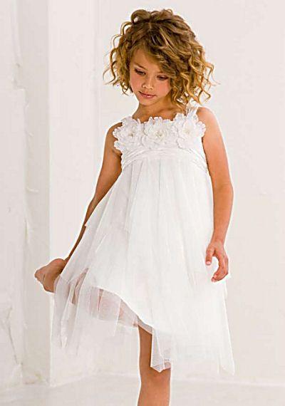 Biscotti Girls Flower Dress White Ode to Love- @courtnie Tate have y'all found a dress yet