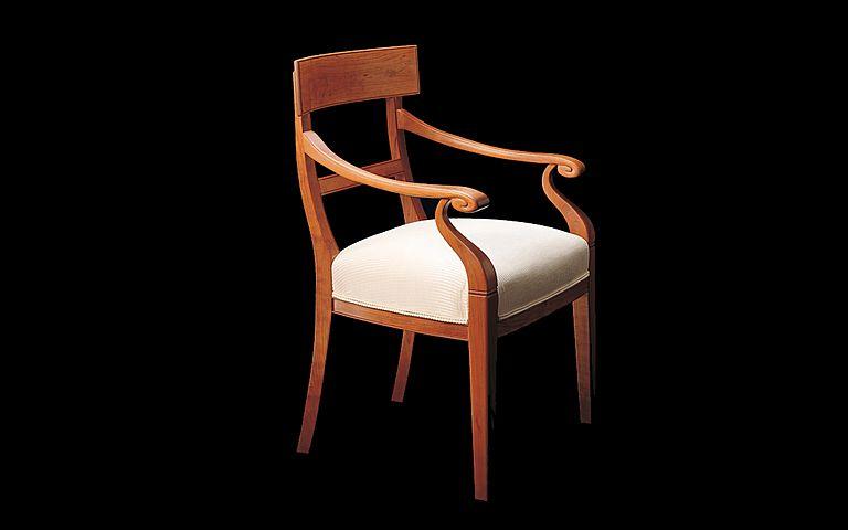 Sophia Arm Chair - The Oak Country Peddler