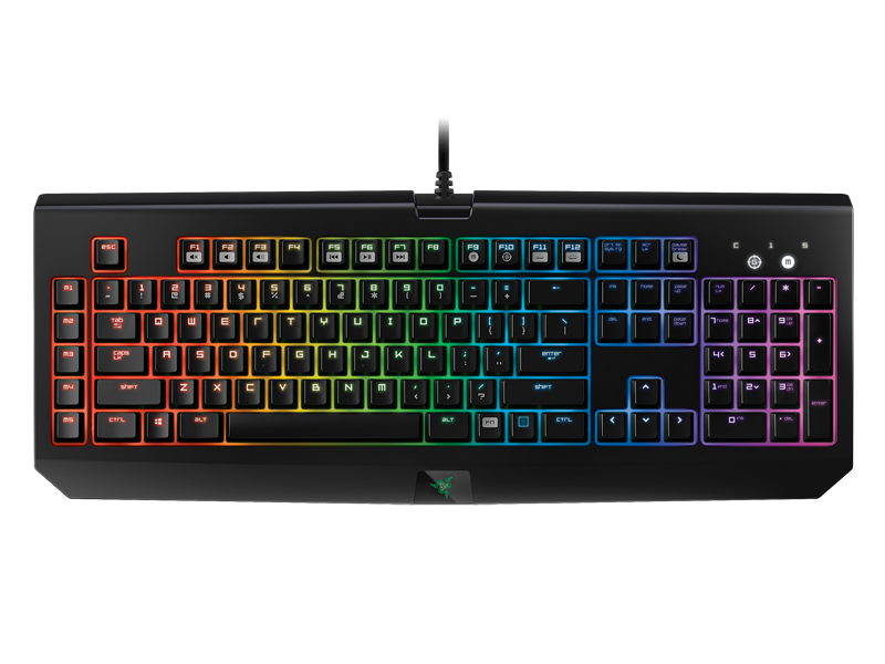 Razer BlackWidow Chroma features individually programmable backlit keys with 16.8 million color option, and the new Razer mechanical switches with 50g actuation force.