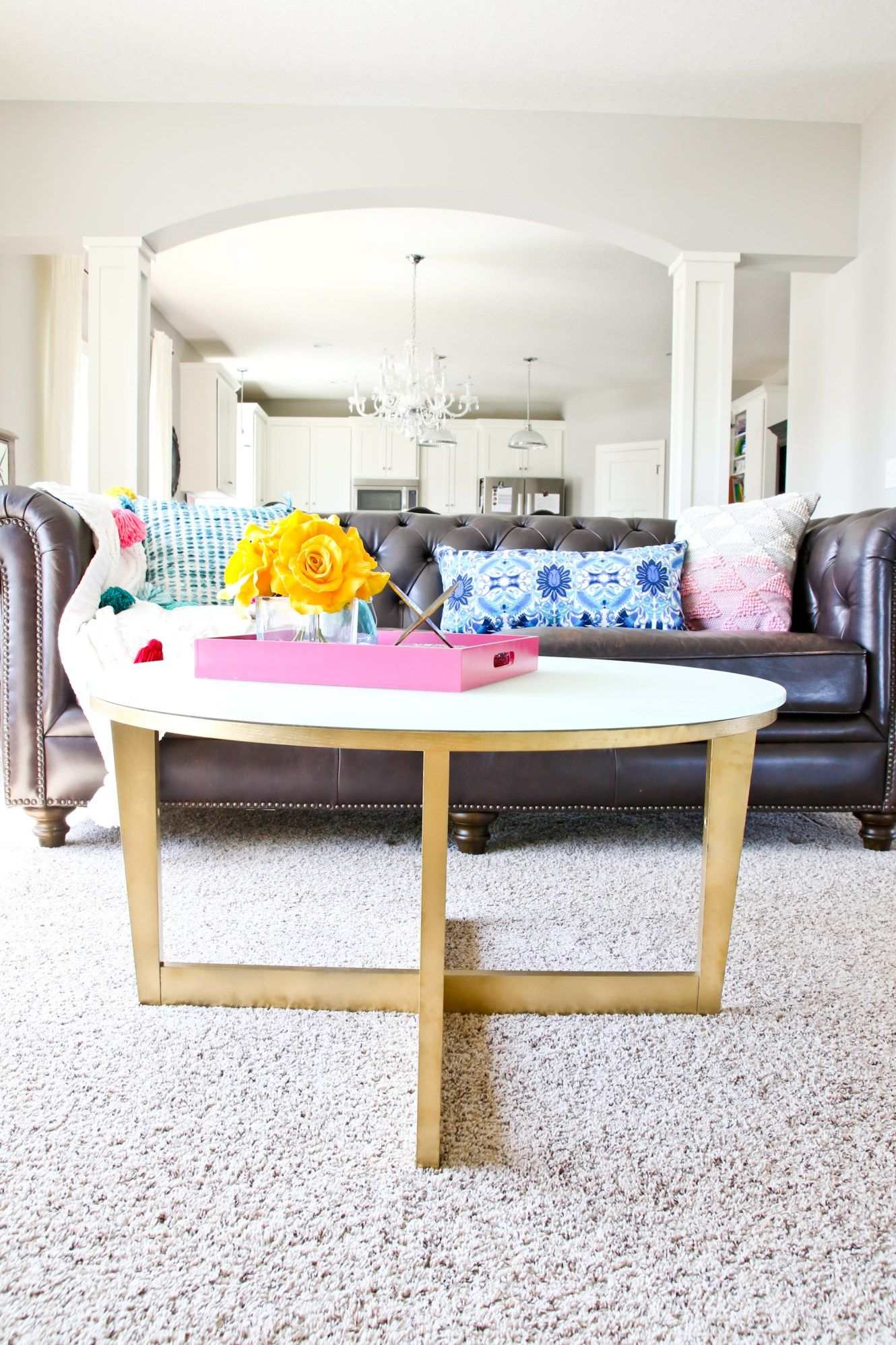 cheap for discount cc9e0 f53eb Ikea Vejmon Coffee Table Hack | Living room - tribal ...