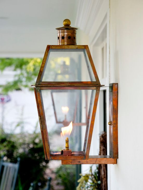 Beautiful Natural Copper Exterior Gas Light Fixture Exterior Light Fixtures Wall Mounted Light Gas Lights