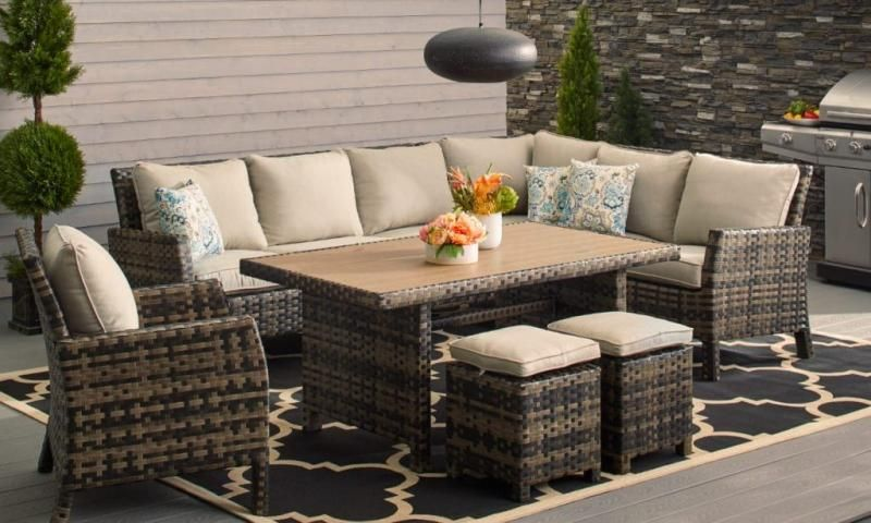 The Modern Patio Furniture You Select Can Be As Impressive As The