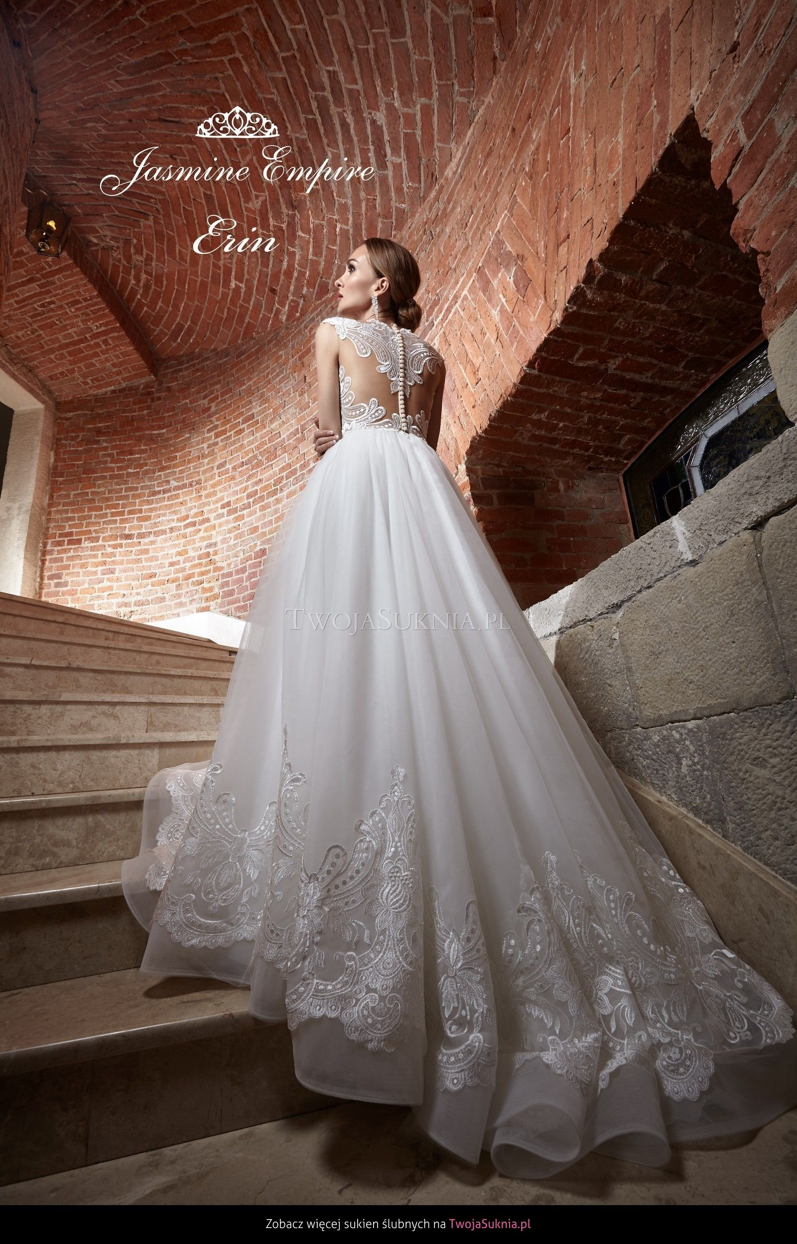 Jasmine Empire Erin Obsession Suknie ślubne Wedding Dresses