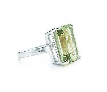 162d2481f Tiffany Sparklers Green Quartz Gemstone Ring | Tiffany & Co. (Prasiolite Cocktail  Ring) #tiffany co #Jewelry