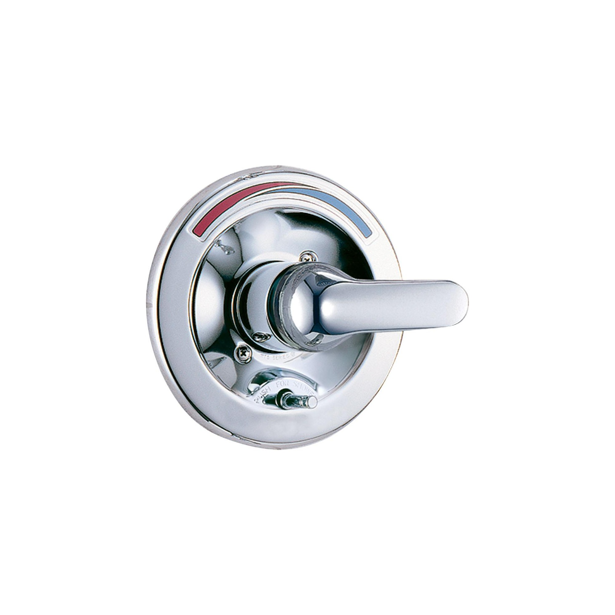 Delta Faucet T13391 Single Handle Shower Valve Trim With Push