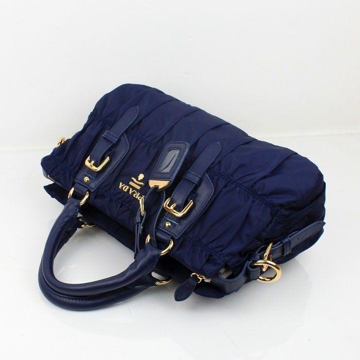 PRADA DESIGNER PURSES BLUE 2518 - Prada Fabric Bags - Prada Bags ... 1ace482937318