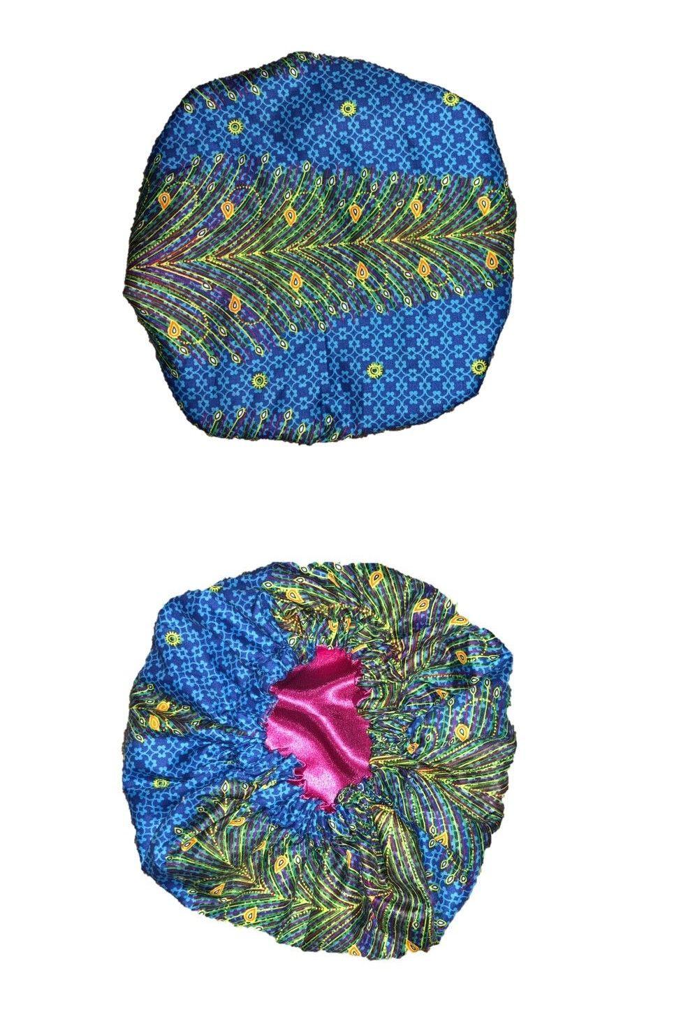 b08274302db Africa 155241  Ankara African Print Satin Sleep Bonnet -  BUY IT NOW ONLY