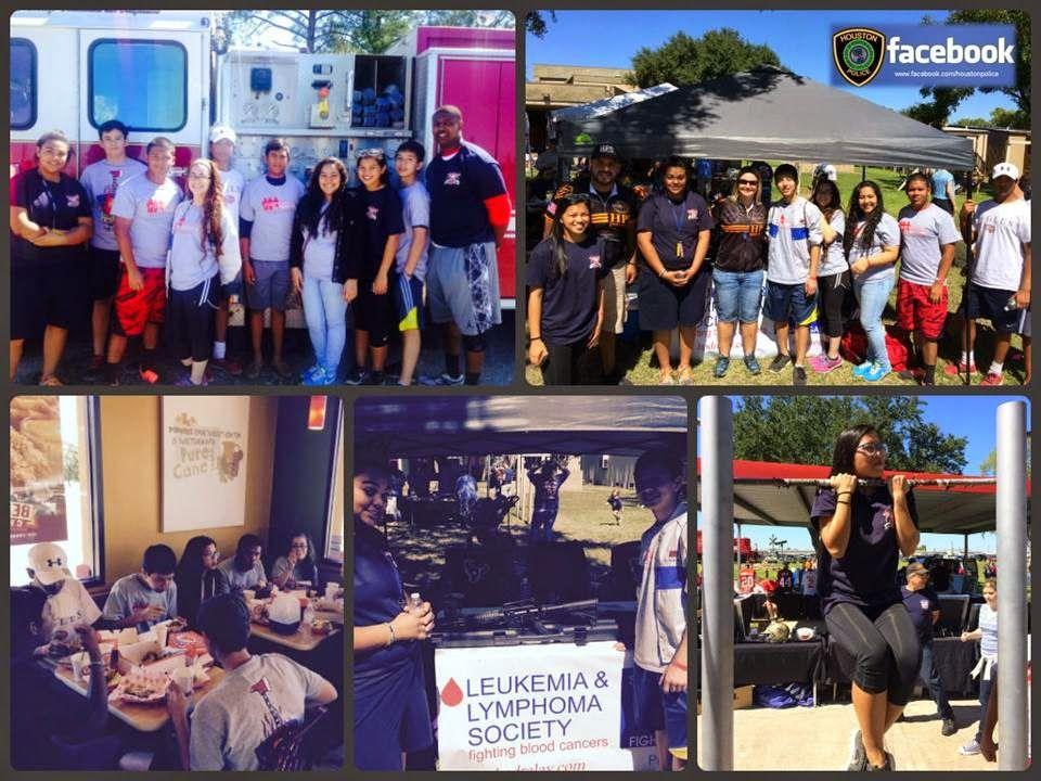 Houston Police Explorers Houston police, Leukemia and
