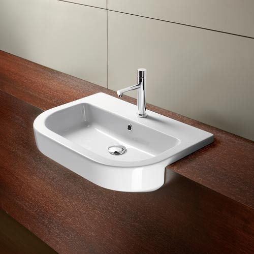 Exceptional WS Bath Collections Tracia Ceramic White 26 X 19 Countertop Bathroom Sink |  Bathroom Sinks, Countertop And Countertops