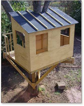 Simple Tree House Plans For Kids kauri tree house plans | treehouse guides | kids | pinterest