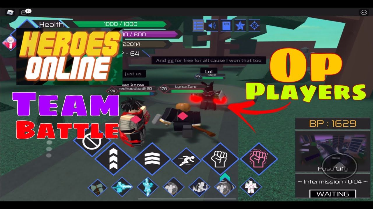 Playing Roblox Heroes Online Team Battles With Killakill Redhoodbad And In 2020 Roblox Play Roblox Battle