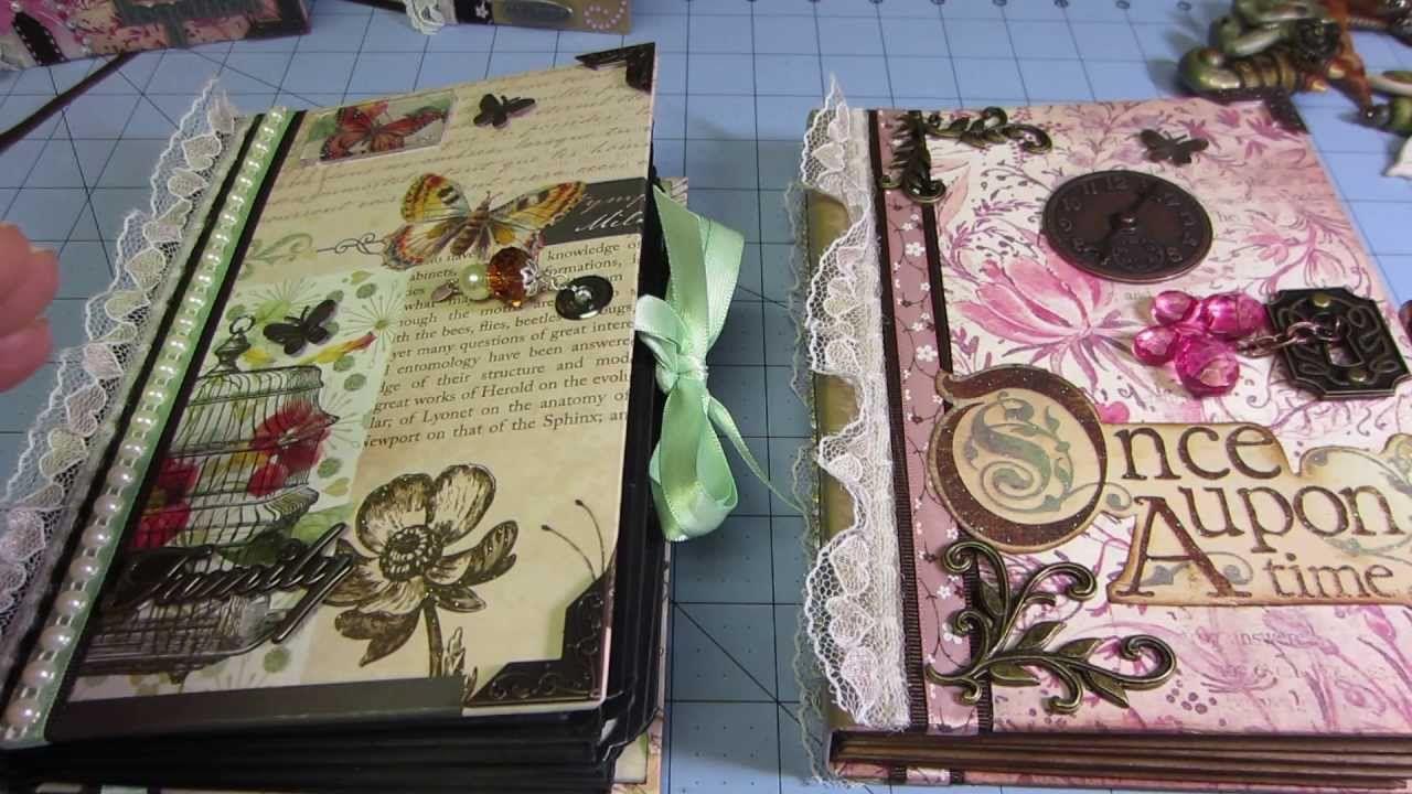 Envelope mini Album; Kathy Orta style