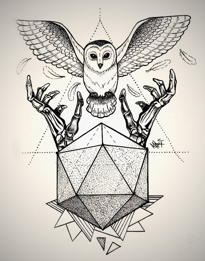 Tattoo Line Drawing Software : Owl dotwork tattoo by marymarylp pinterest