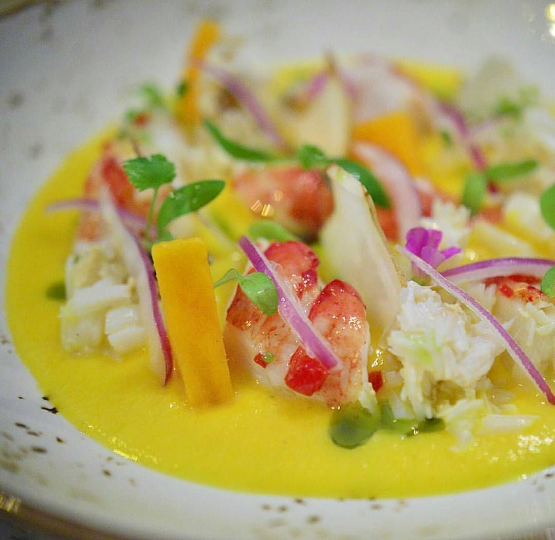 the perfect spring dish peruvian lobster ceviche made with